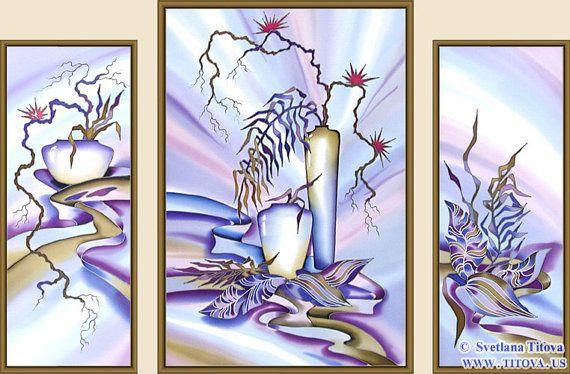 Original Silk Painting by Svetlana Titova  от MagicSilkPainting