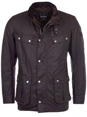 Barbour International Brown Wax Duke Jacket