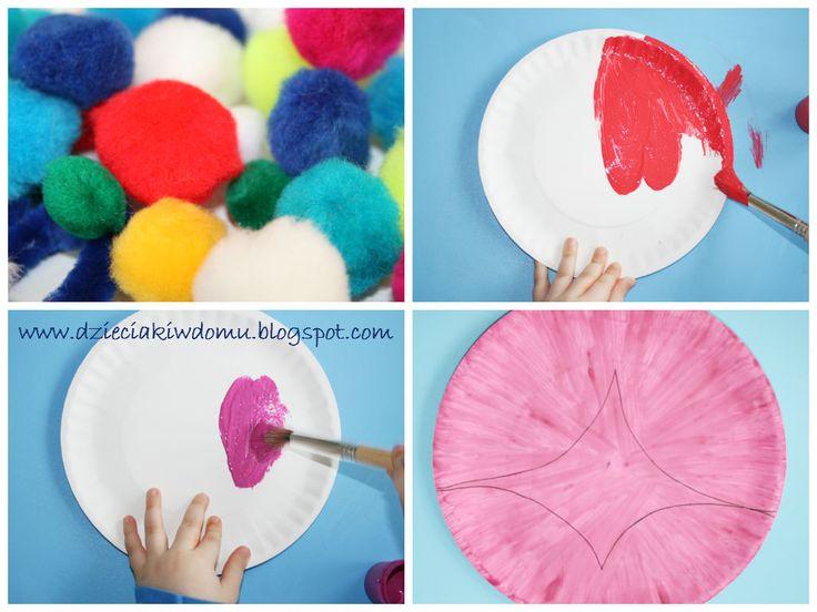 Kolorowe Motyle Dzieciaki W Domu