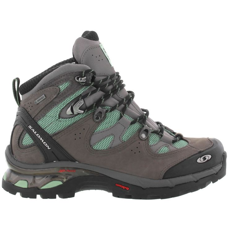 Salomon Womens Comet 3D Lady GTX Hiking Boots - Grey Green