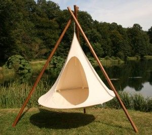 6 Hanging Teepee Laid Back Lux Misc Hammock Swing