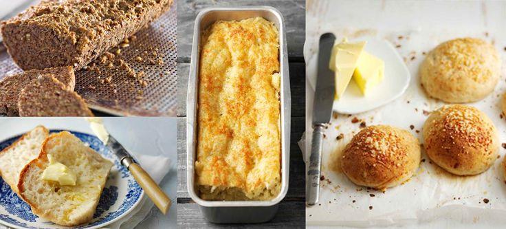Mikään ei voita itse tehtyä leipää ja sama pätee gluteenittomiinkin leipiin. Keräsimme neljä ihanan erilaista leipäohjetta, jonka avulla jokainen voi nauttia uunituoreesta leivästä.