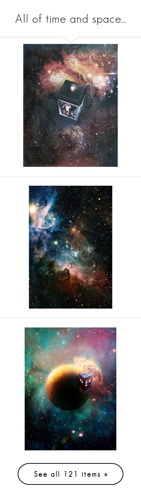 """""""All of time and space..."""" by faylane ❤ liked on Polyvore featuring doctorwho, doctor who, backgrounds, photos, images, dw, home, bed & bath, bedding and bed sheets"""