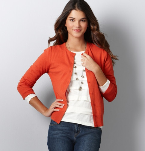Coral Cardigan (from Ann Taylor Loft)
