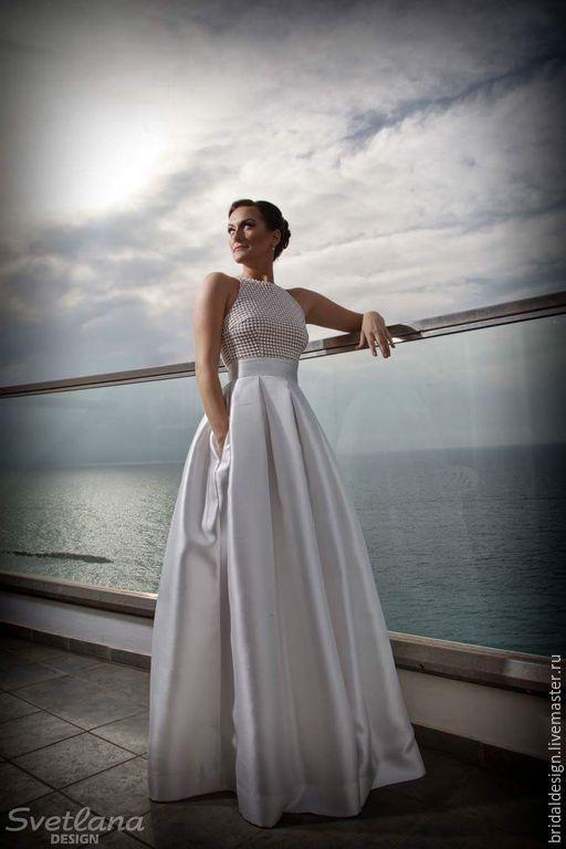 Stephanie. Платье из тафты - белый, винтаж, свадьба, свадебное платье, красивое платье, невеста