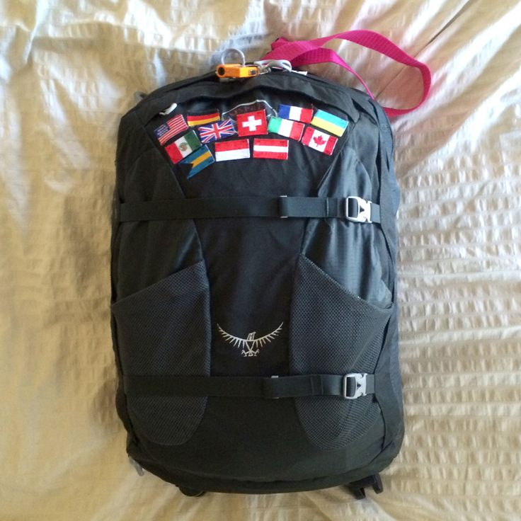 Blog post on choosing a travel backpack (writer bought the Osprey Farpoint 40) and packing for long or short term travel.