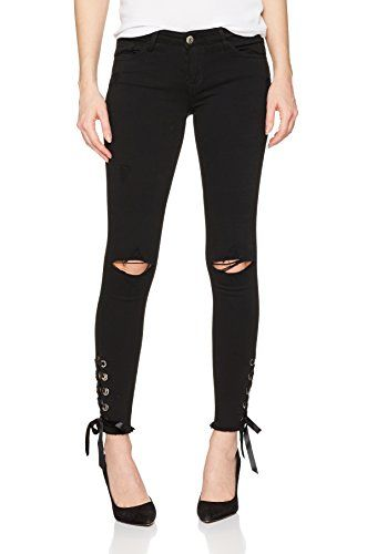 nice TALLY WEIJL Damen Hose Spacozoela, Schwarz (Black Hh), 36 ... 747796d756