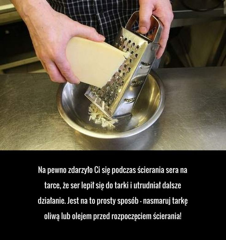 Praktyczny trik, który pomoże Ci zetrzeć ser na tarce!