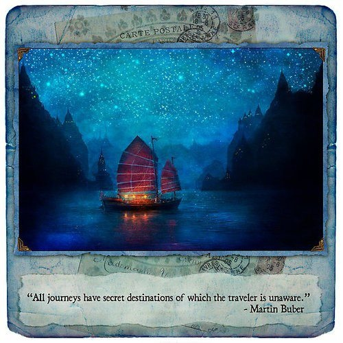 """""""All journeys have secret destinations of which the traveler is unaware."""" - Martin Buber #inspirationalquotes #inspiration #visualisedquote #travelquotes"""