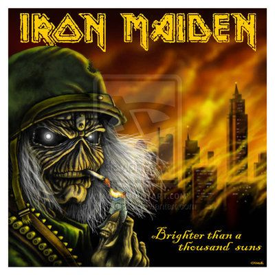 Eddie The Head - Iron Maiden