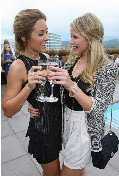 Lauren Conrad & Lo Bosworth