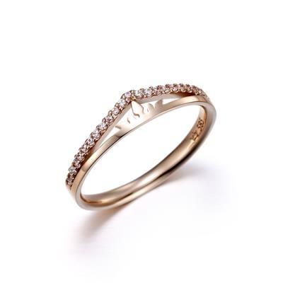 Doppio Anello Ring