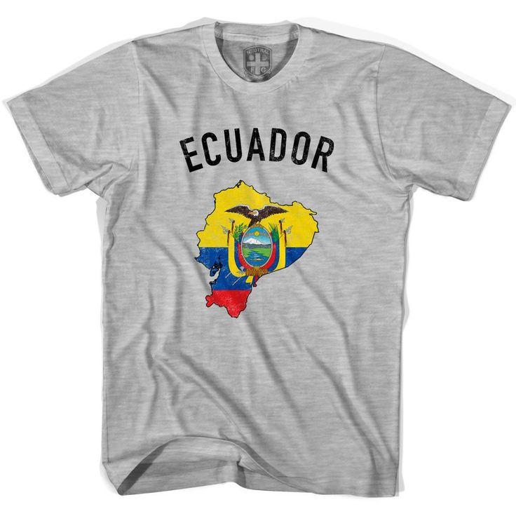 Ecuador Flag & Country T-shirt