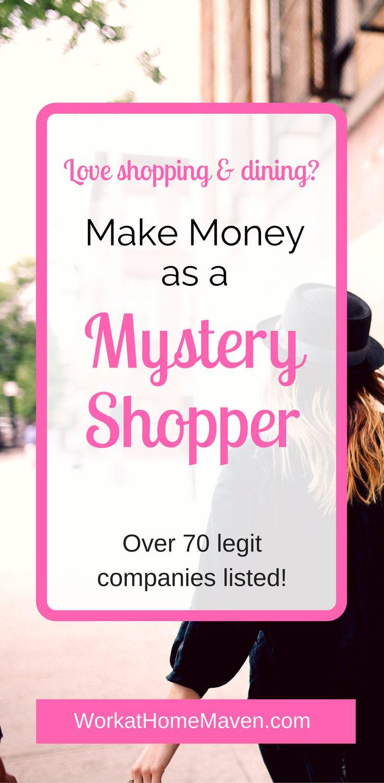 Make Money As A Mystery Shopper