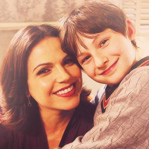 Awesome Lana and Jared (Regina and Henry) #Once #BTS Granny's Diner #Storybrooke Maine #StevestonVillage #Richmond #Vancouver BC