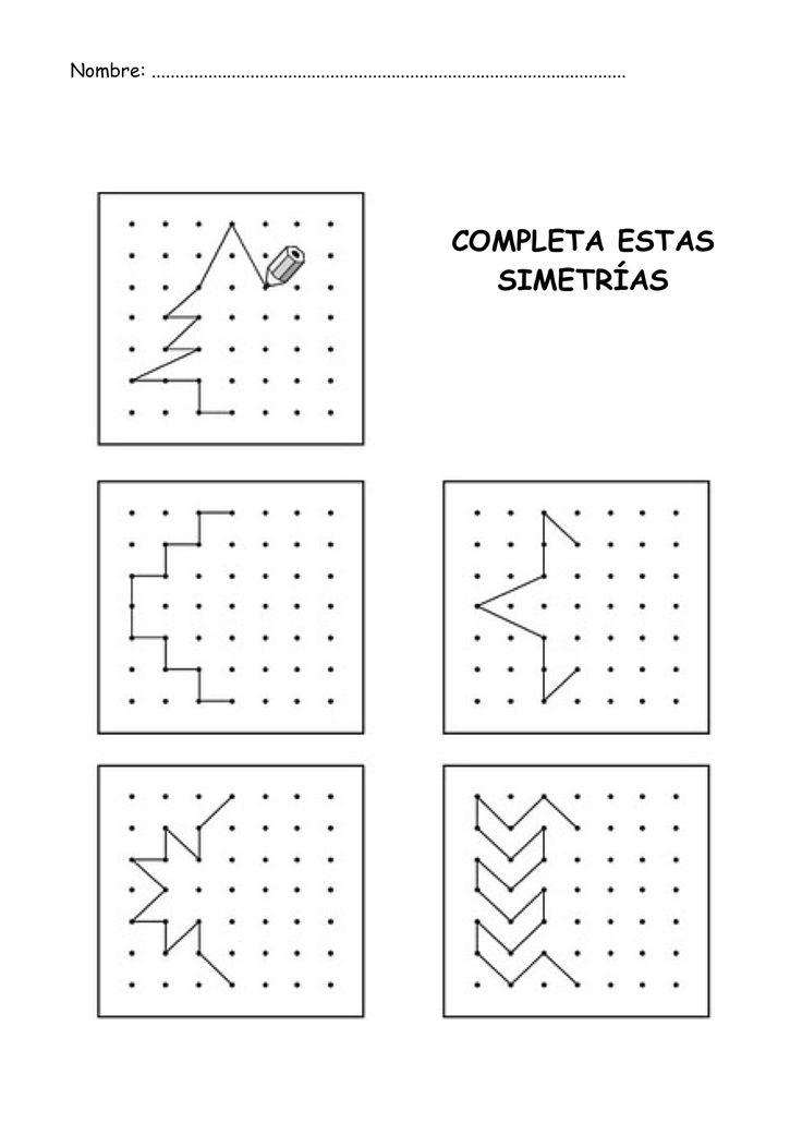 simetrias para niños imprimir - Buscar con Google
