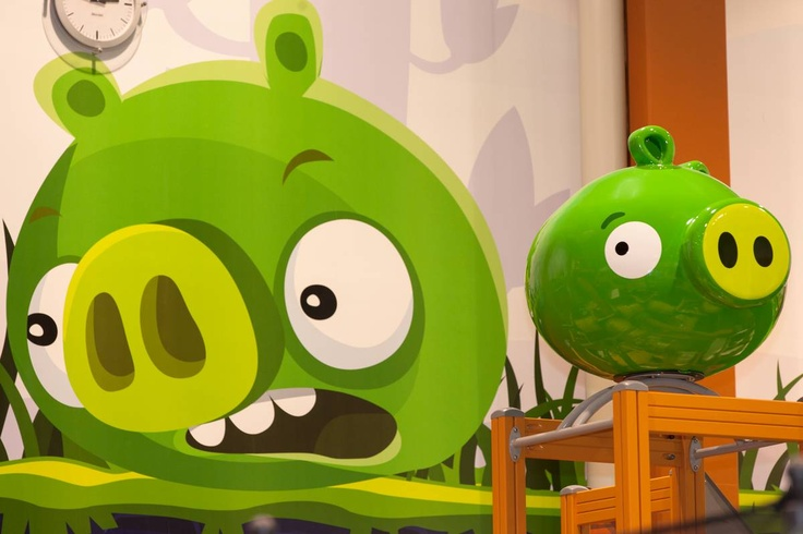 Bad piggies @ Angry Birds Activity Park in Kuusamon Tropiikki