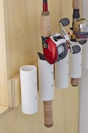PVC pipes to hold your fishing pole