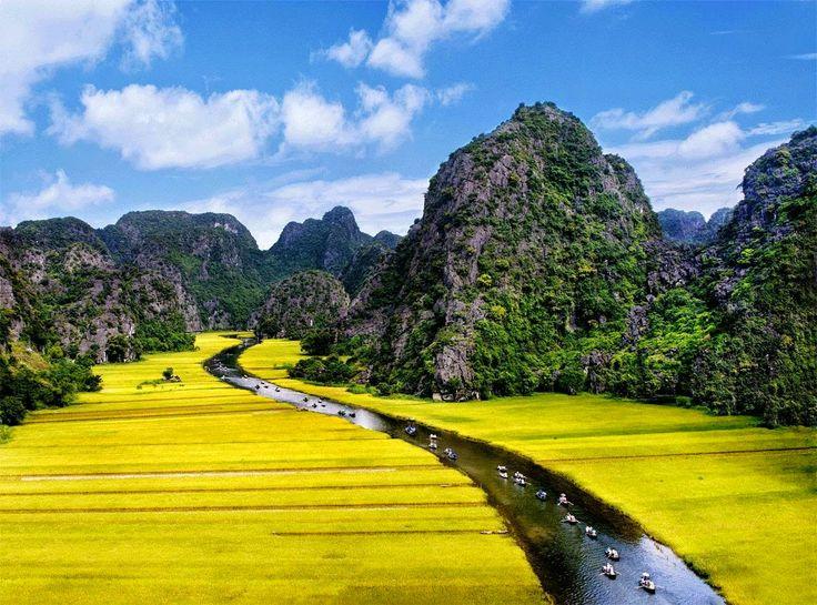 La magica provincia di Ninh Binh, #Vietnam, la regione del Delta del Fiume Rosso