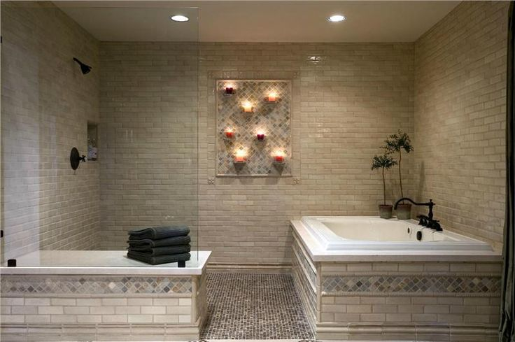 Classic Contemporary Bathroom by Kenneth Brown on HomePortfolio