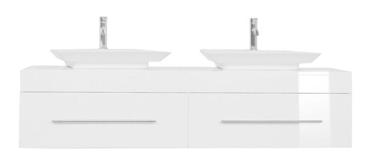Badmöbel mit zwei Waschbecken günstig kaufen