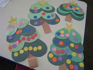 Heart Christmas trees