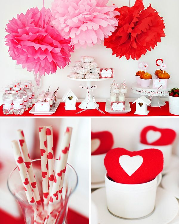 All you need is l-o-v-e: Valentines Parties, Desserts Table, Brunch Ideas, Birds Valentines, Holidays Brunch, Valentines Day Parties, Brunch Parties, Valentines Brunch, Parties Ideas