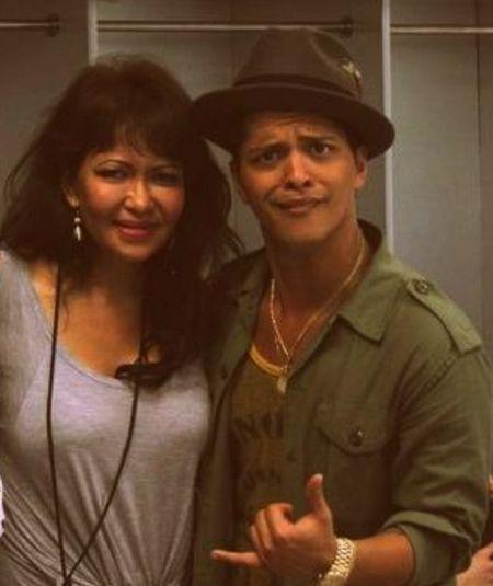 Bruno Mars' mother, Bernadette Hernandez,  dies of brain aneurysm at 55.