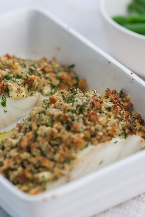 This is an excellent recipe for crusted pollock that's an easy fish dish to prepare. Nathan Outlaw's pollock recipe is a wonderful way to prepare this whitefish