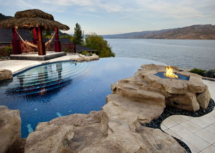 65 best spectacular pools images on pinterest swimming for Pool design kelowna