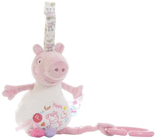 Peppa Pig Musical Pull Down. Peppa Pig Pull-down Musical. Plays soothing lullaby featuring music from the TV series. 27 x 12cm. Suitable from birth.