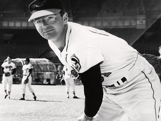 Steve Dalkowski. He never played a regular-season game in the majors, but may have been the fastest pitcher ever. In the minors in 1960, he had 262 strikeouts and 262 walks in 170 innings pitched!