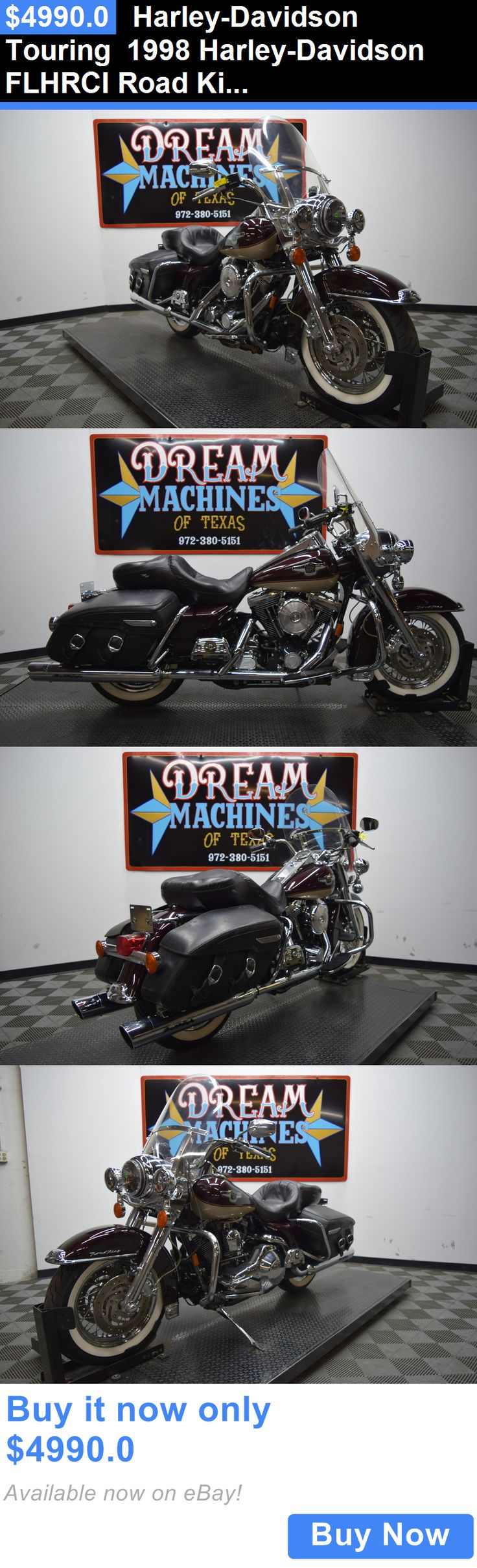 Motorcycles harley davidson touring 1998 harley davidson flhrci road king classic 95th anniversary