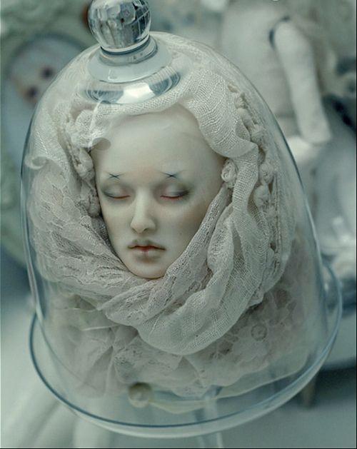 Head in a jar decoration halloween pinterest for Heads in jar