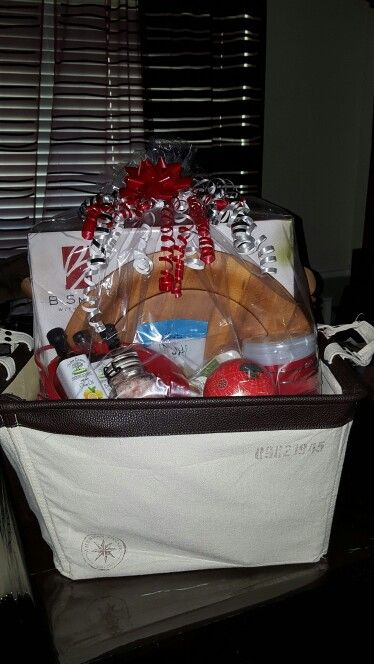 Wedding gift basket - k & m 2016