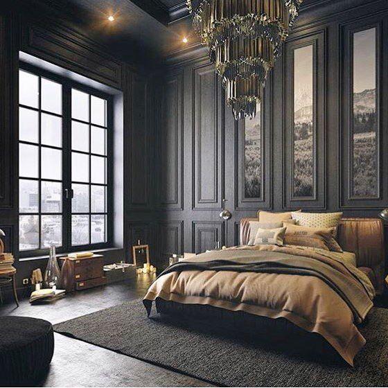 Fine Beautiful Dark Twisted Fantasy Design Luxurious Bedrooms Home Interior And Landscaping Eliaenasavecom