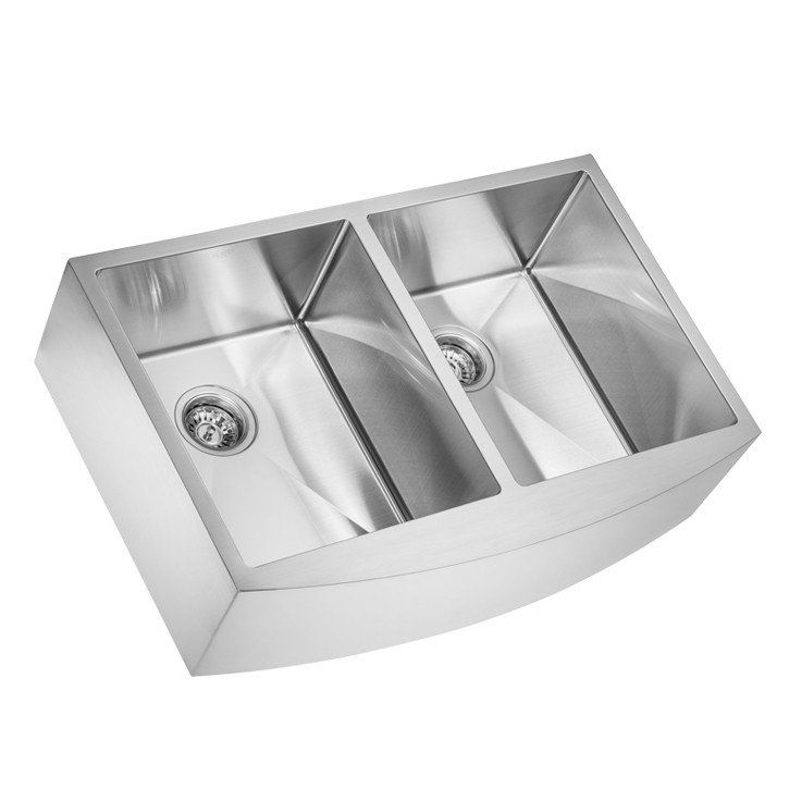 This Stainless Steel Double Bowl Sink Comes With Bowl Size 380x452 Mm It Has A Sound Reduction Pad On The Bottom With A Double Bowl Sink Sink Single Bowl Sink