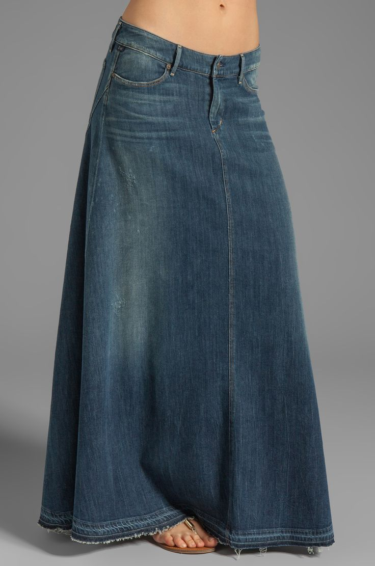 Citizens of Humanity Jeans Anja Maxi Skirt en Dizzy SS 2014