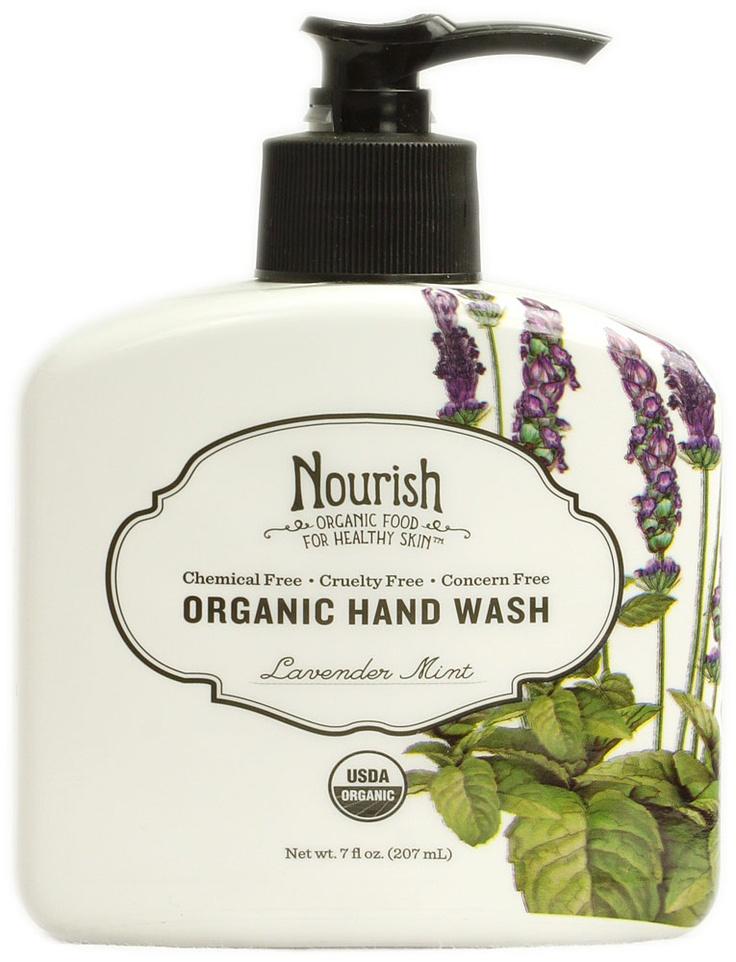 Nourish Organic Hand Wash Lavender Mint propylene glycol
