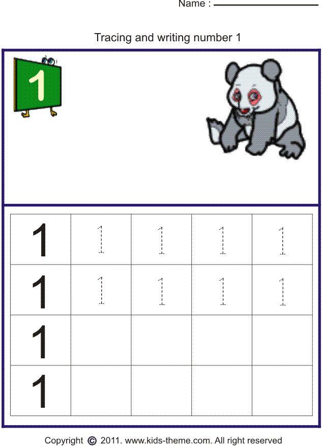 best 25 number tracing ideas on pinterest tracing worksheets preschool worksheets and. Black Bedroom Furniture Sets. Home Design Ideas
