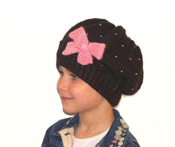 Handknit beret for 47 year old girlknitted toddler by iziknittings