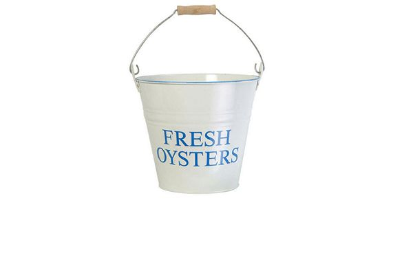 'Oyster' Bucket - £18-The Nautical Interiors Trend - Homes & Bargains