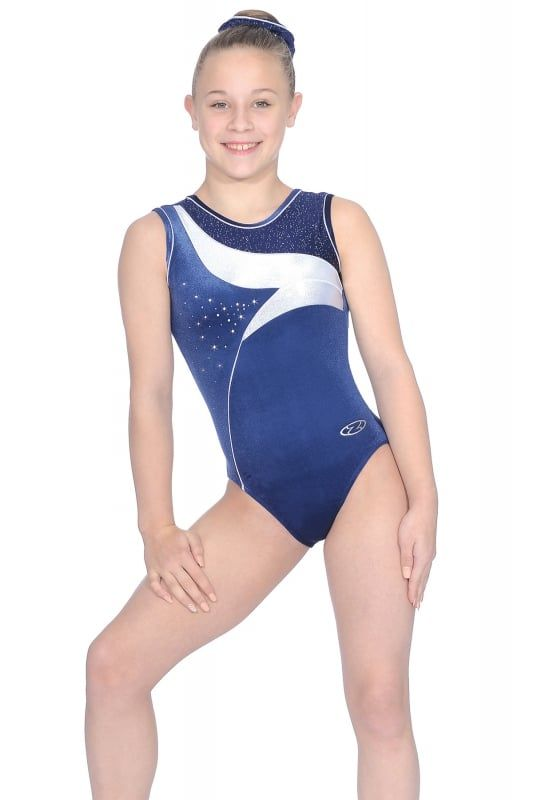 07d954128178 The Zone Cosmic sleeveless gymnastics leotard. This round neck ...