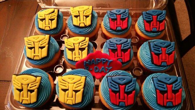 Transformers cupcakes