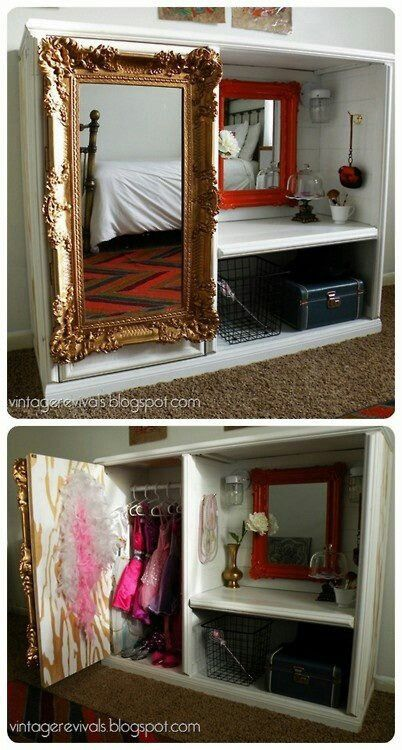 Create your own dress up station