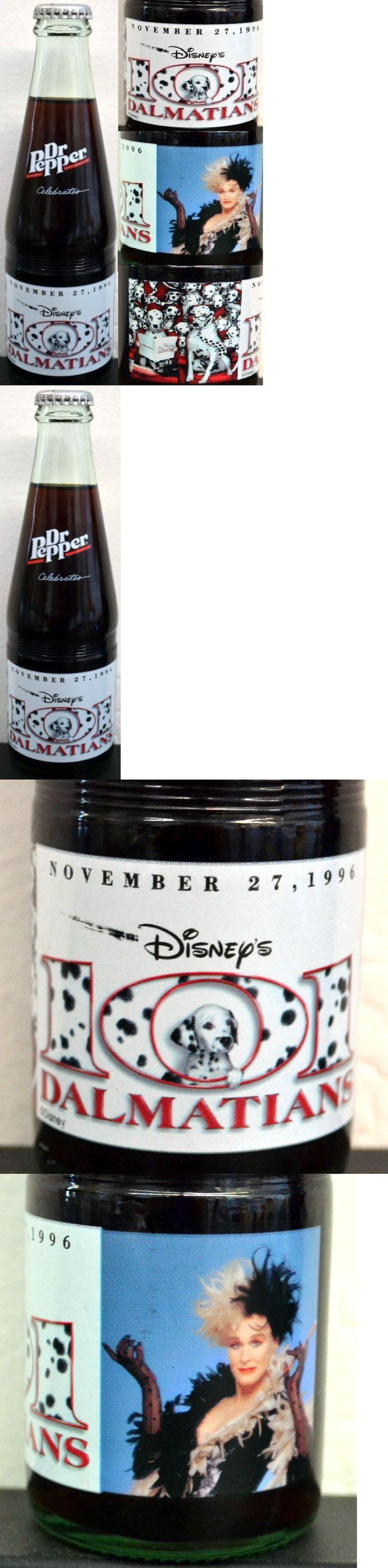 101 Dalmatians 50308: Rare 101 Dalmations Movie Premiere Dr Pepper Bottle - Glenn Close - Disney Htf+ -> BUY IT NOW ONLY: $47.99 on eBay!