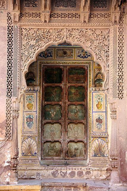 Indian door | Flickr