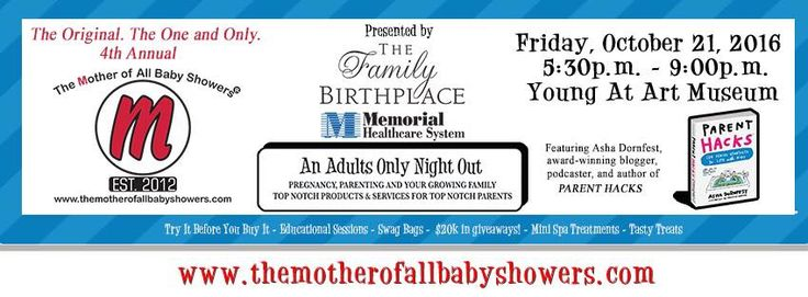 The Mother Of All Baby Showers on October 21 and Local Mom Scoop will be there.