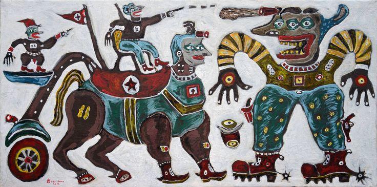 Cowboy's Way by Heri Dono