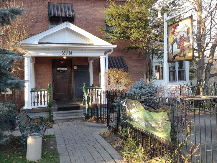Port Perry's charming downtown eateries: The Jester's Court.